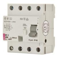 EFI-4A 40/0,03A áram-védőkapcsoló