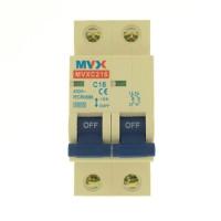MVX 2P C 10A kismegszakító