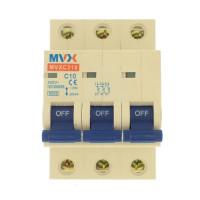 MVX 3P C 10A kismegszakító