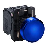 LED-es jelzőlámpa, kék, 230V